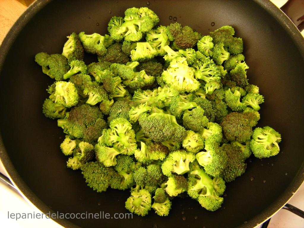 poêlée-brocolis