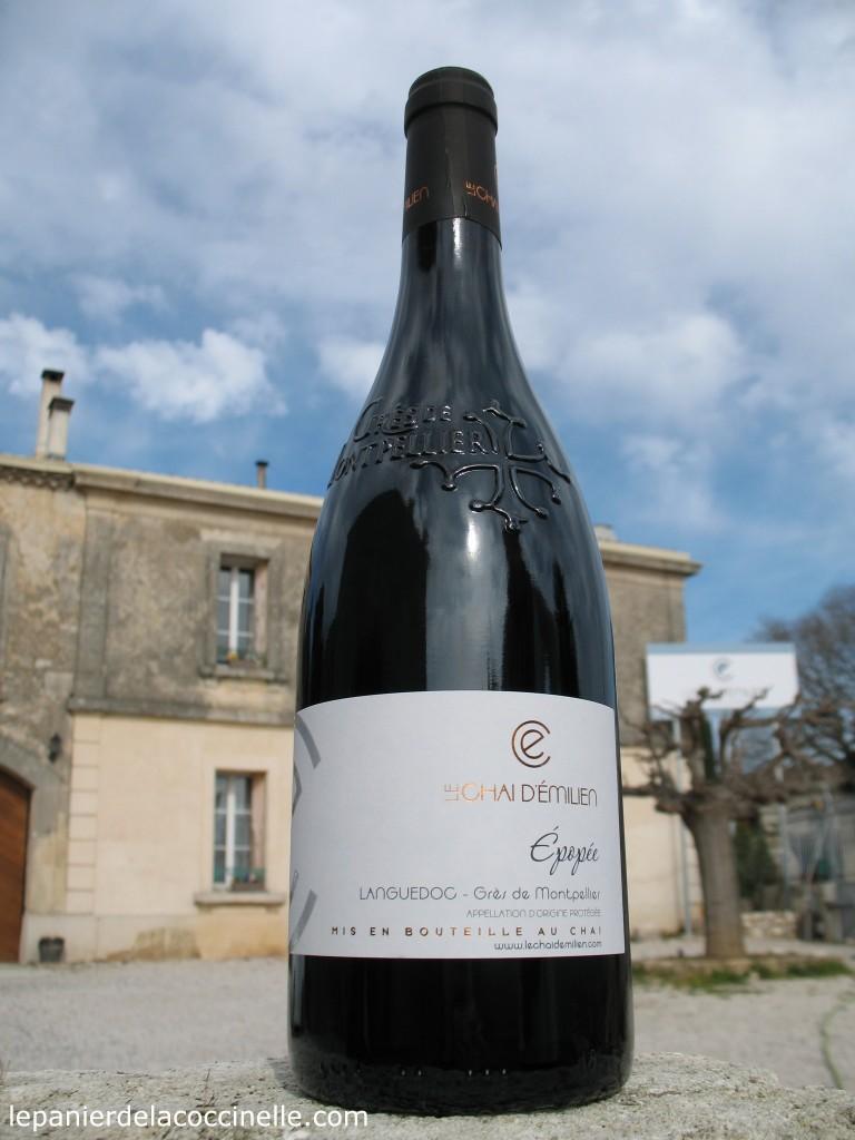 Chai-d'Émilien-vin-rouge-Grés-de-Montpellier-Épopée