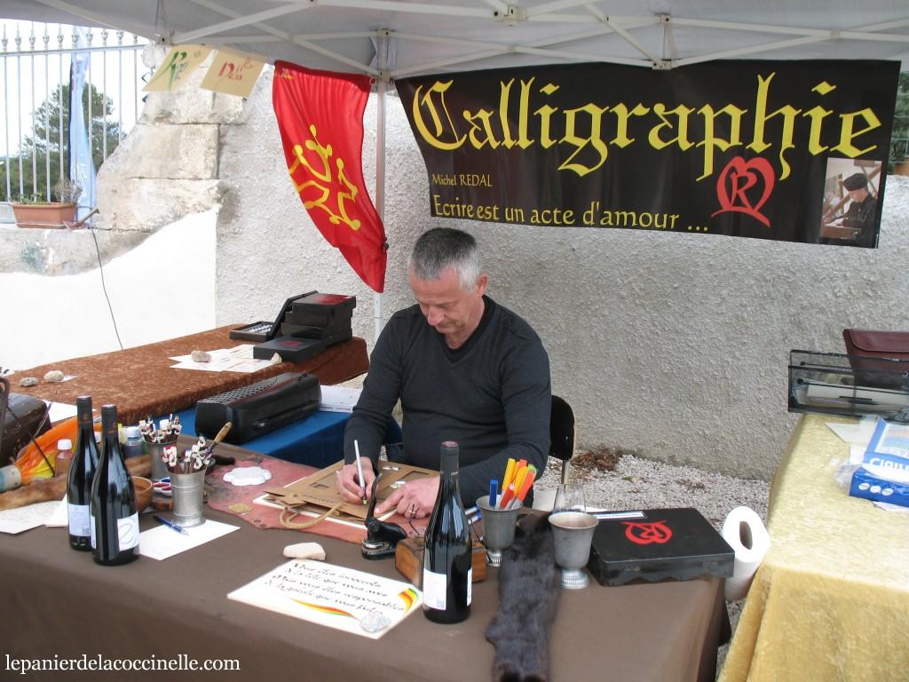 calligraphe-Michel-Rédal-Printanières-Chai-d'Émilien