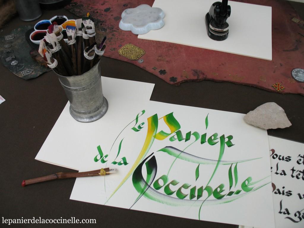calligraphie-Michel-Rédal-Le-panier-de-la-coccinelle