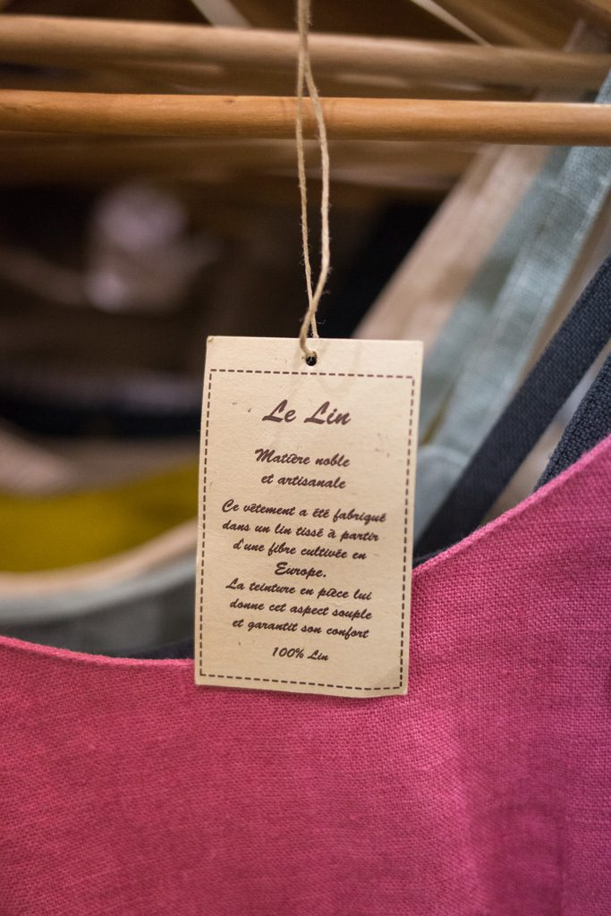 10 bonnes raisons de porter des vêtements en lin. Lin ou l'Autre artisan mode éco-responsable et made in France. Mademoiselle Coccinelle, blog mode éthique.