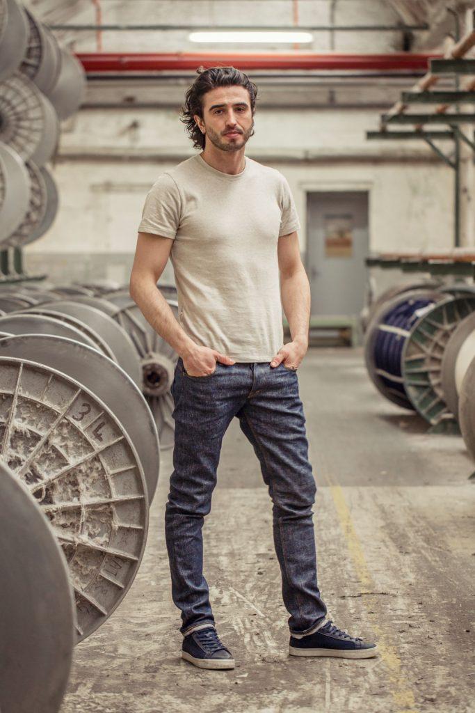 Le premier jeans made in France en lin. Interview de Davy DAO. Mademoiselle Coccinelle, blog mode responsable