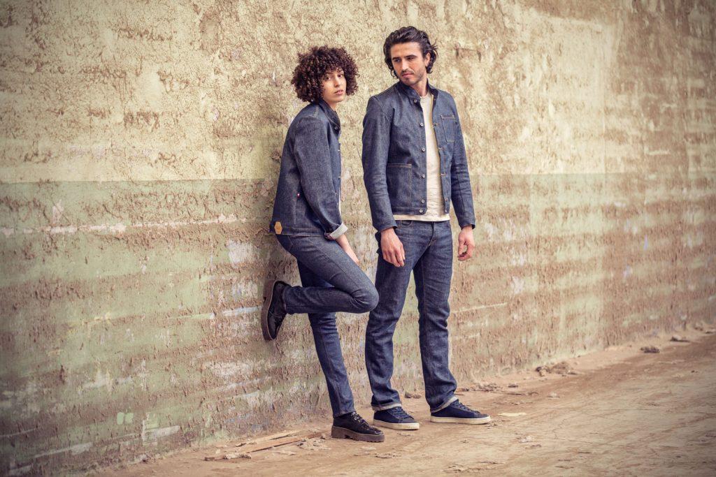 Le premier jeans made in France en lin. Interview de Davy DAO. Mademoiselle Coccinelle, blogueuse mode éco responsable