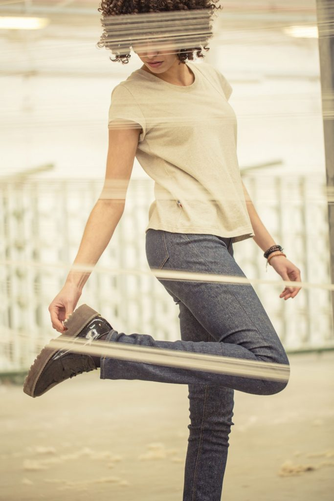 Le premier jeans made in France en lin. Interview de Davy DAO. Mademoiselle Coccinelle, blogueuse green mode éco responsable