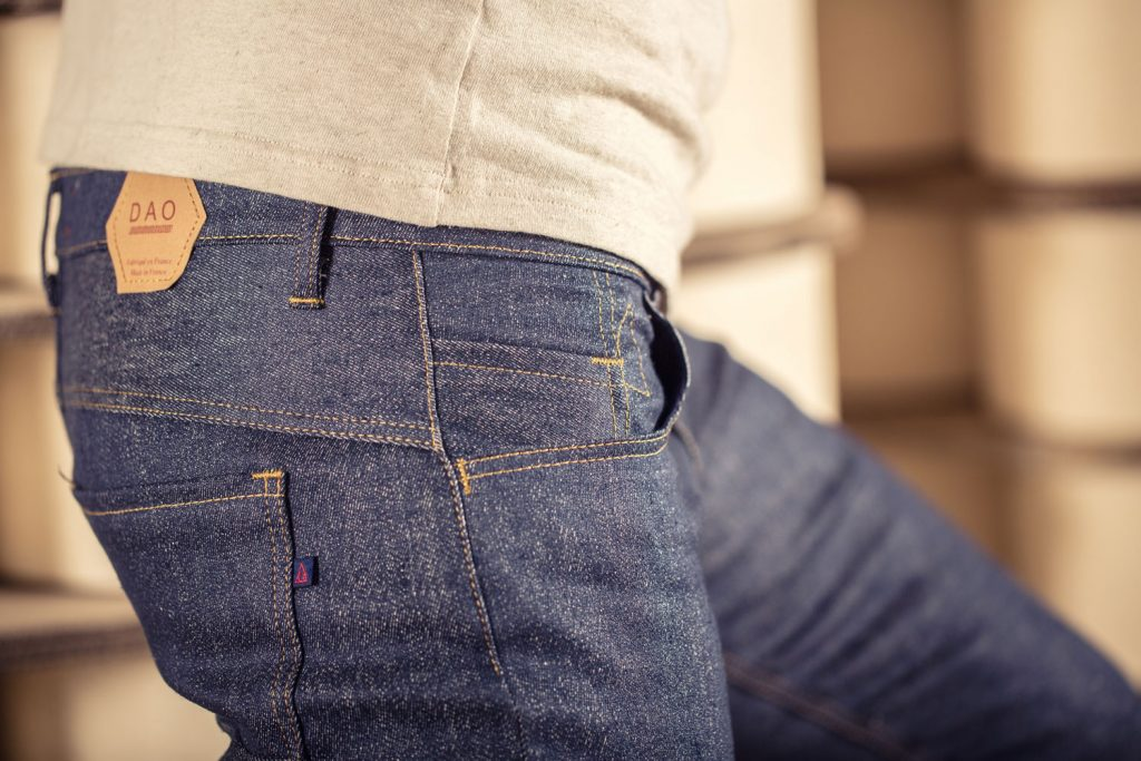 Le premier jeans made in France en lin. Interview de Davy DAO. Mademoiselle Coccinelle, blog green mode éco responsable