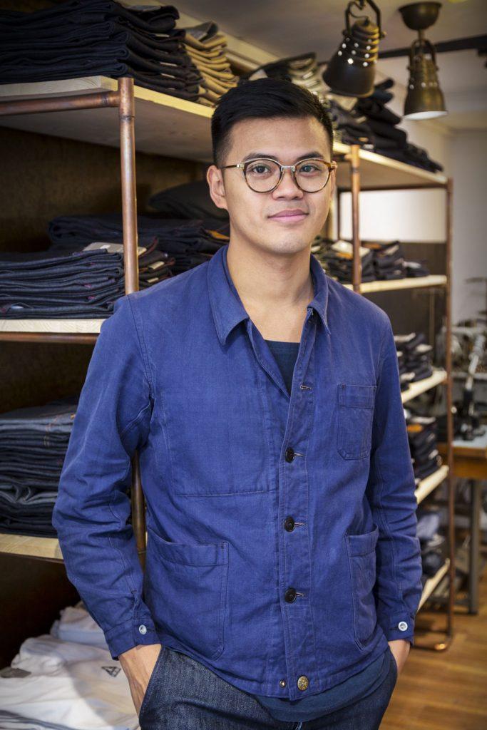 Le premier jeans made in France en lin. Interview de Davy DAO. Mademoiselle Coccinelle, blog mode éco responsable