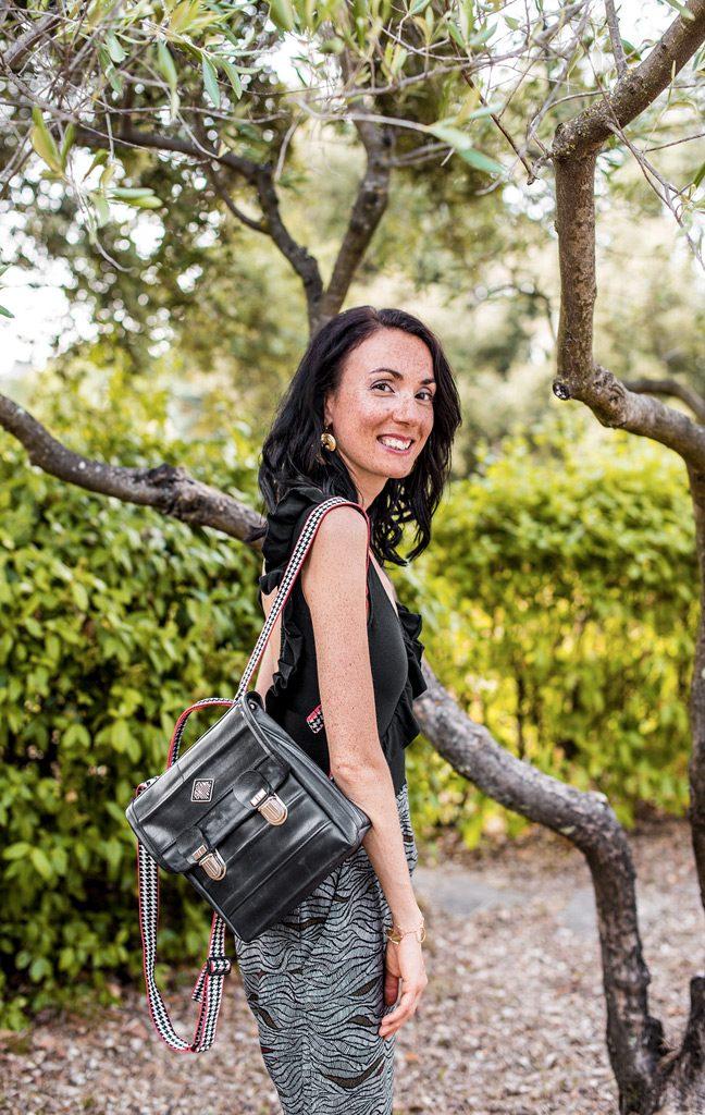 Vêtements et sac à dos vegan de la boutique de mode éthique et éco-responsable Les 3 L à Montpellier, présentés par la blogueuse Mademoiselle Coccinelle
