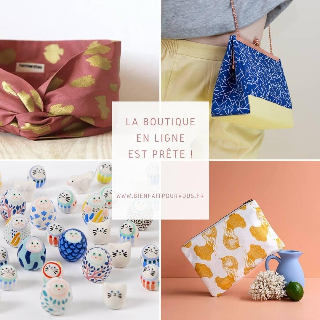 Créateurs made in France chez Bien Fait pour Vous, boutique de mode éthique à Montpellier.